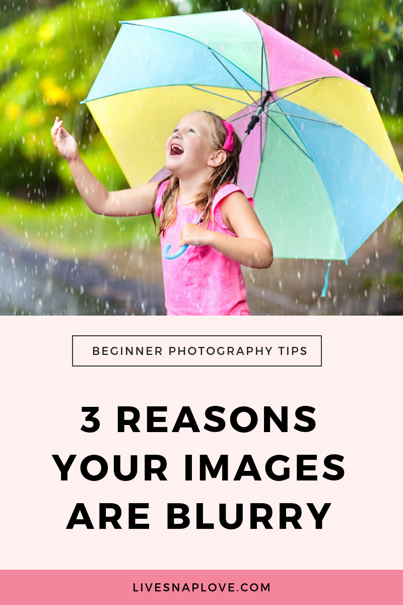 Why do I have blurry pictures? Here are three why your images might be soft and blurry - and what you can do to sharp photos. | Photography Tips | Beginner Photography Tips | Sharp Photos Canon | Sharp Photos Nikon