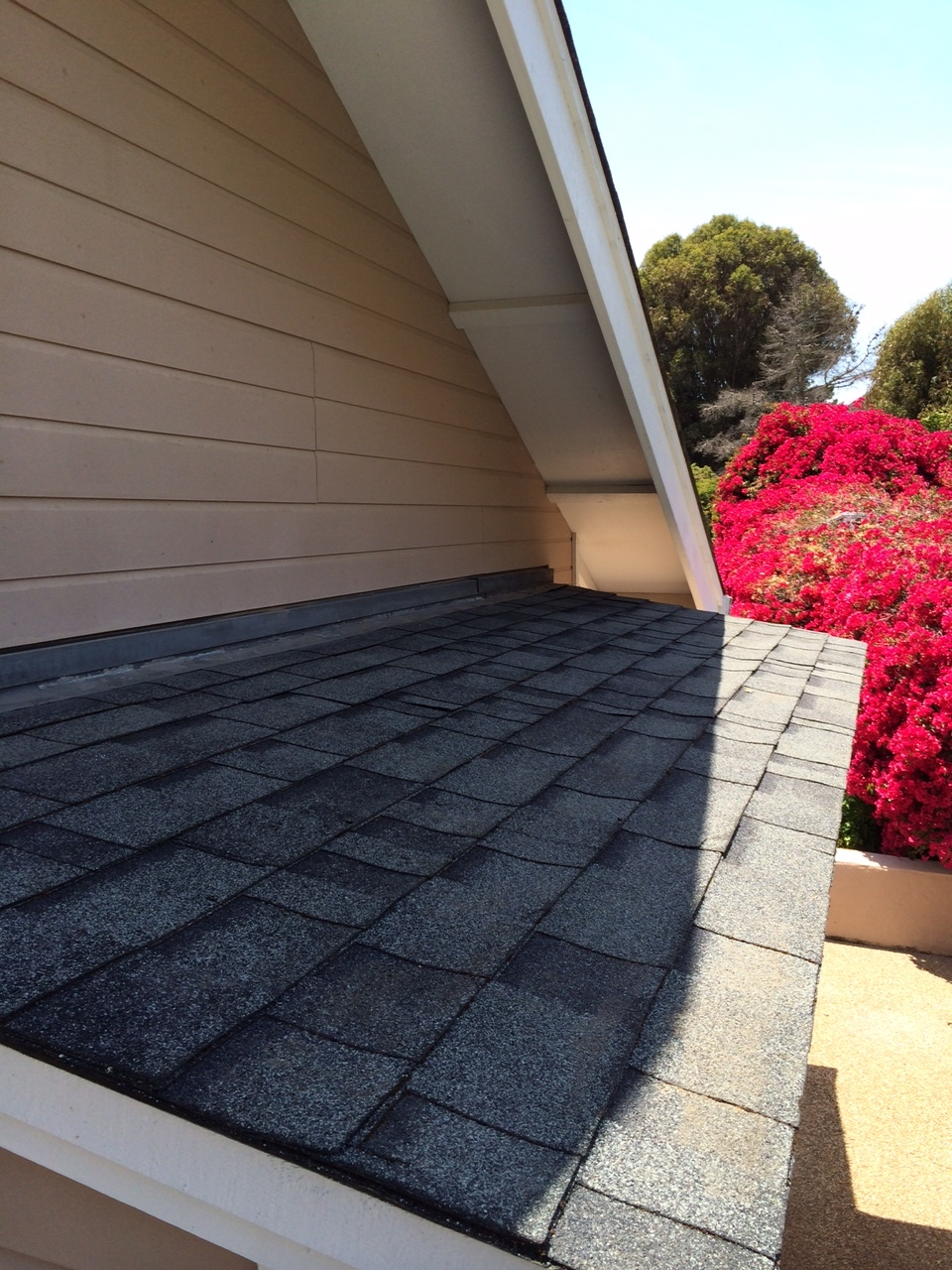 Roof after