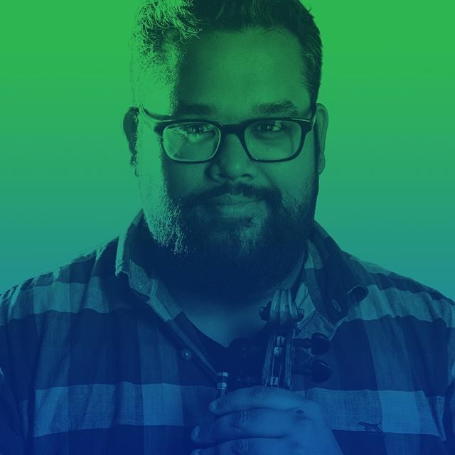 """""""It is as much our job to heal and inspire as it is to disrupt and provoke."""" Violinist and social justice advocate Vijay Gupta is doing just that in marginalized communities of Los Angeles. Hear his story at #HallmarkCLS. #Disrupt"""