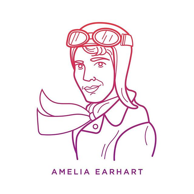 Defying gender roles, Amelia Earhart became the first woman to fly solo across the Atlantic Ocean. An advocate for the advancement of women in aviation, she was also the first pilot to fly from Hawaii to the U.S. mainland and the first woman to receive the Distinguished Flying Cross. #Disrupt #HallmarkCLS
