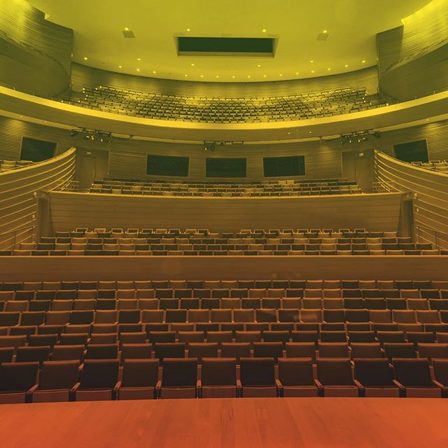 In just two days our creative community will fill these seats to hear the stories of innovators, boundary breakers and industry disruptors. It's a privilege we do not take for granted. #Disrupt #HallmarkCLS #Anticipation