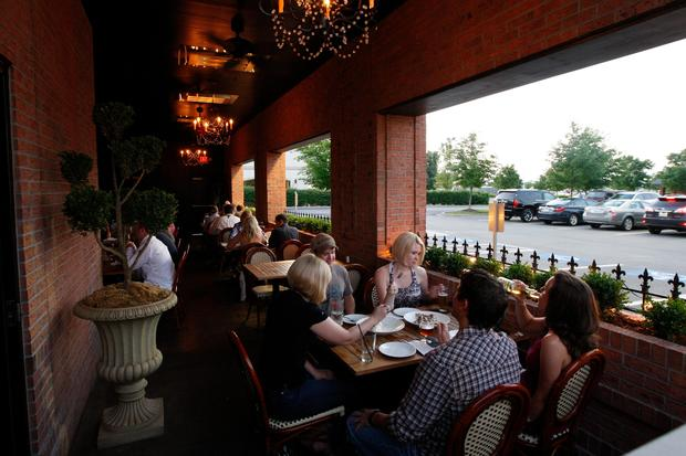 Outdoor patios. After a long winter nothing can quench our thirst quite like an outdoor patio and an adult beverage.