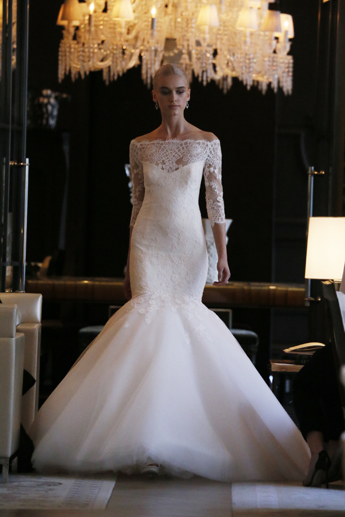 Monique Lhuillier Spring 2016 Bridal Collection