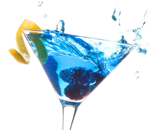 "The ""Big Blue Martini!"""