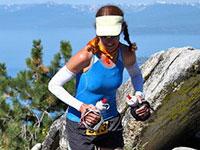 Gretchen Brugman- 1st Lake Tahoe Marathon 2009, 1st Helen Klein 50 miler, 3rd Place Tahoe Rim Traill 100 2010