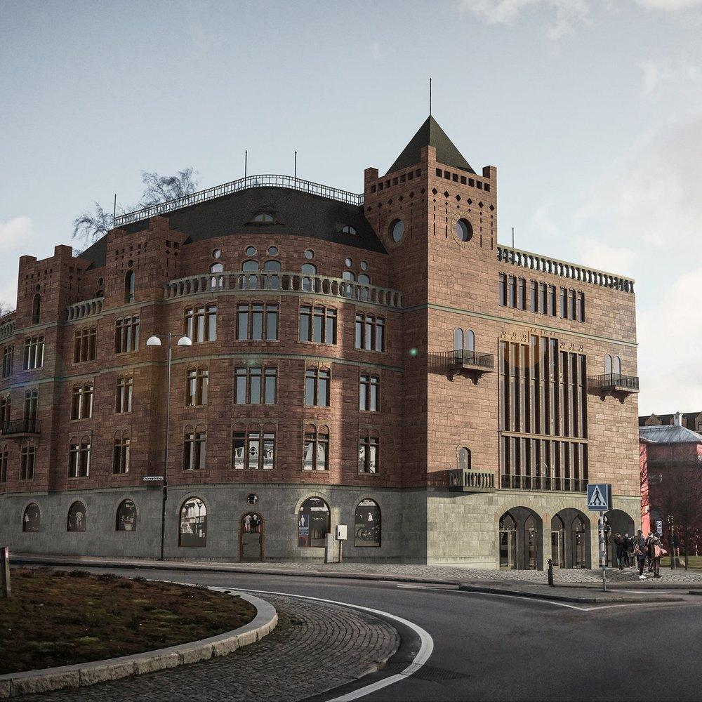 Sigfridshäll and Byggmästaren