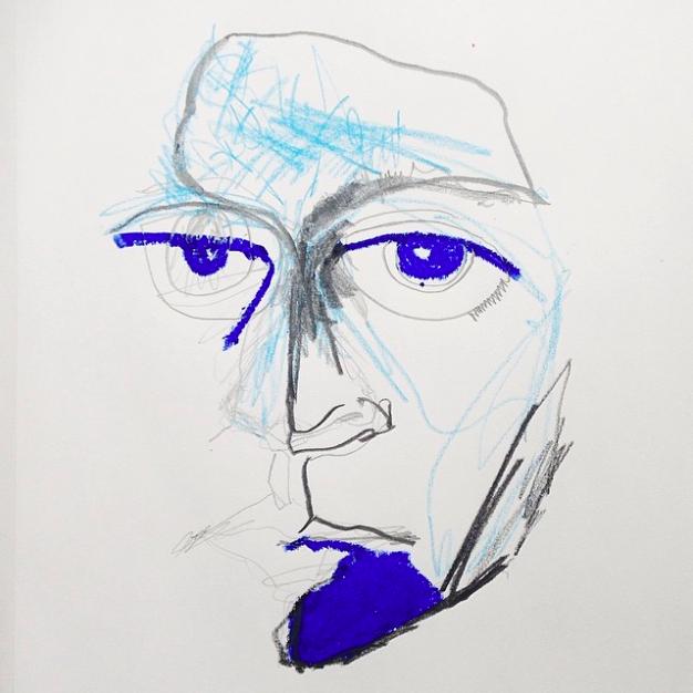 Self Portrait, Elle Luna, #100daysproject