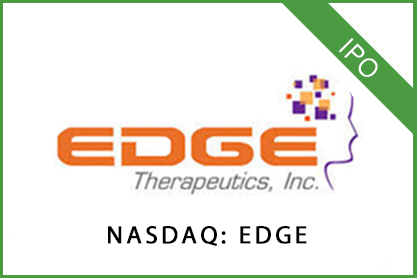 Edge Develops patient therapies to transform treatment paradigms NASDAQ: EDGE