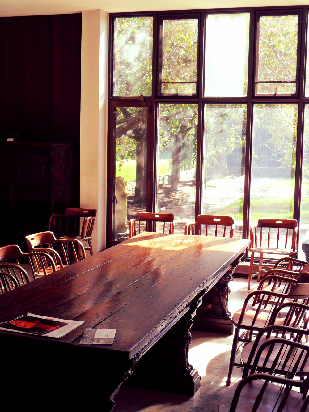 Fellowship Table at Portsmouth Abbey, Rhode Island
