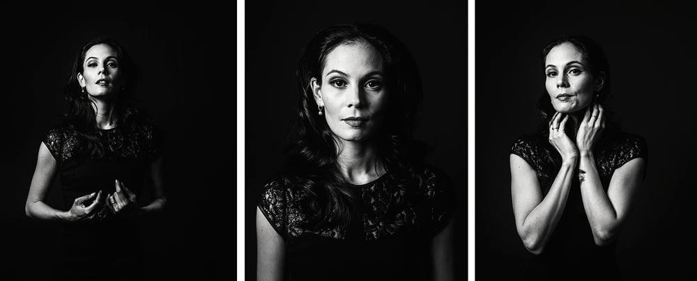 Portretfoto's van balletdanseres Igone de Jongh, Amsterdam 2015