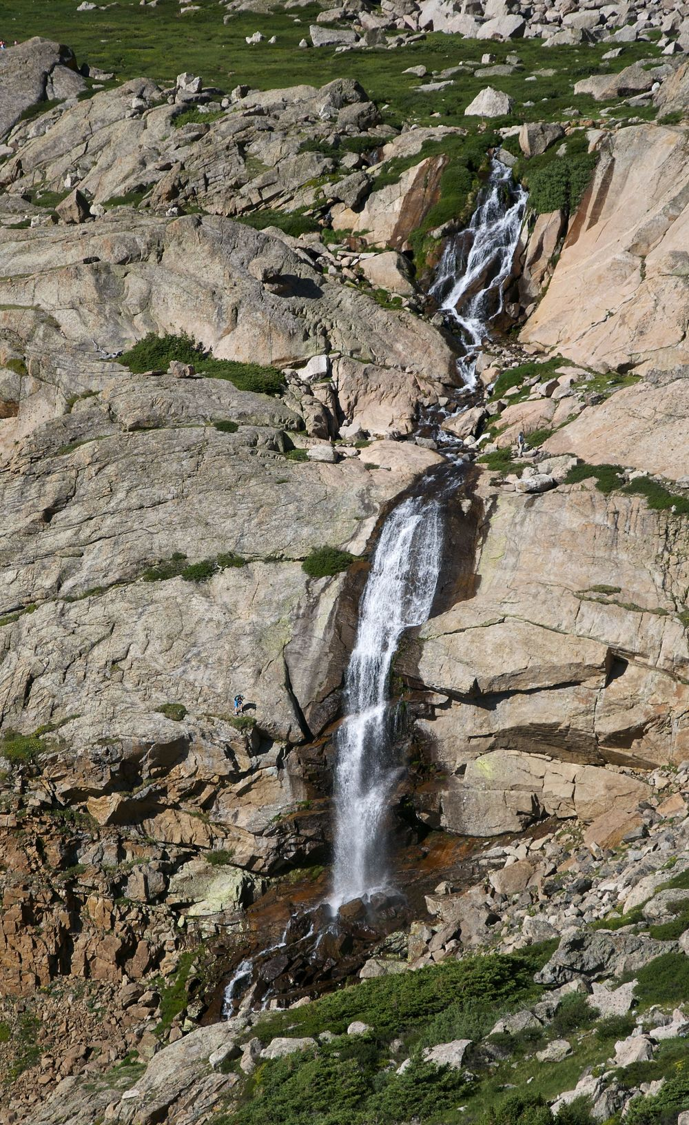 Columbine Falls on Chasm Lake Trail