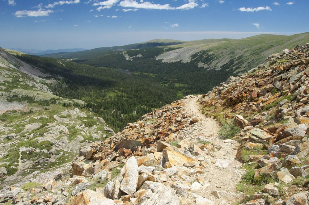 Pawnee Pass Trail