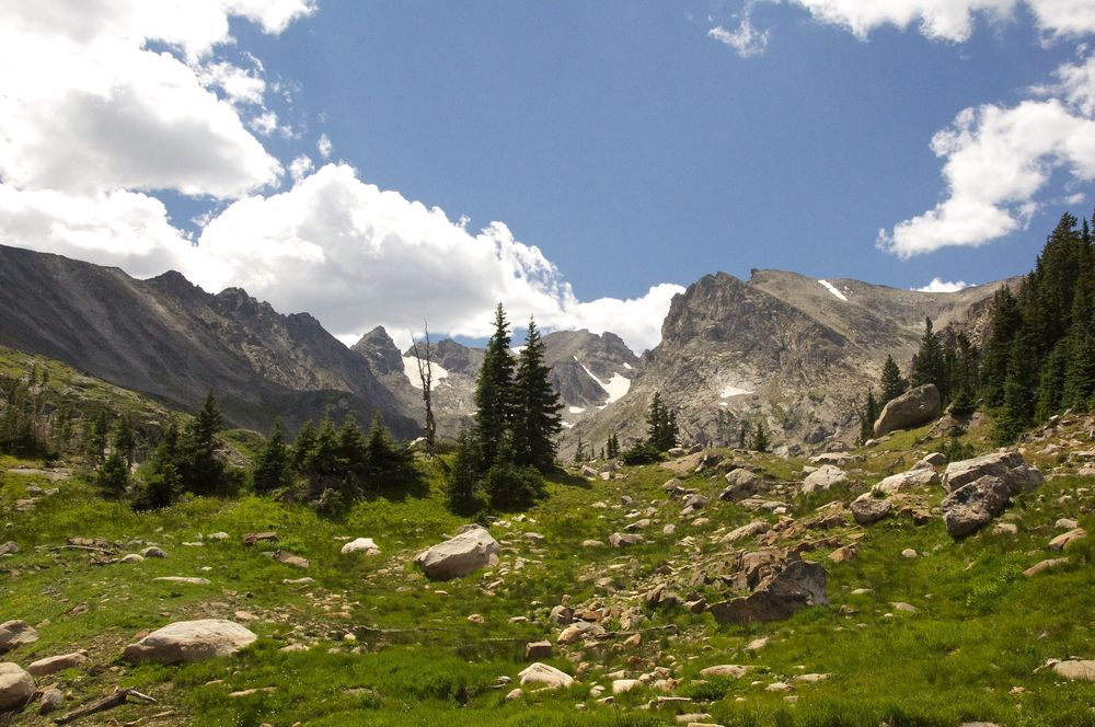 Lake Isabelle Boulder