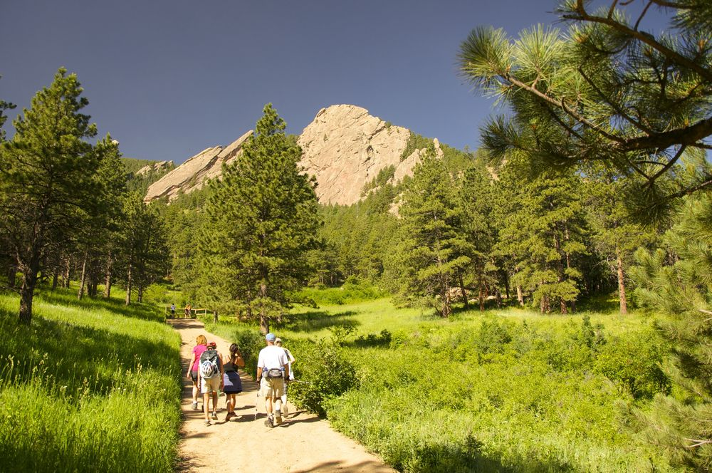 Flatiron Loop gets up close and personal to the 'Big Irons'