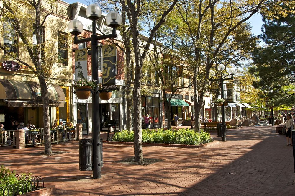 Pearl Street Mall, Boulder Colorado