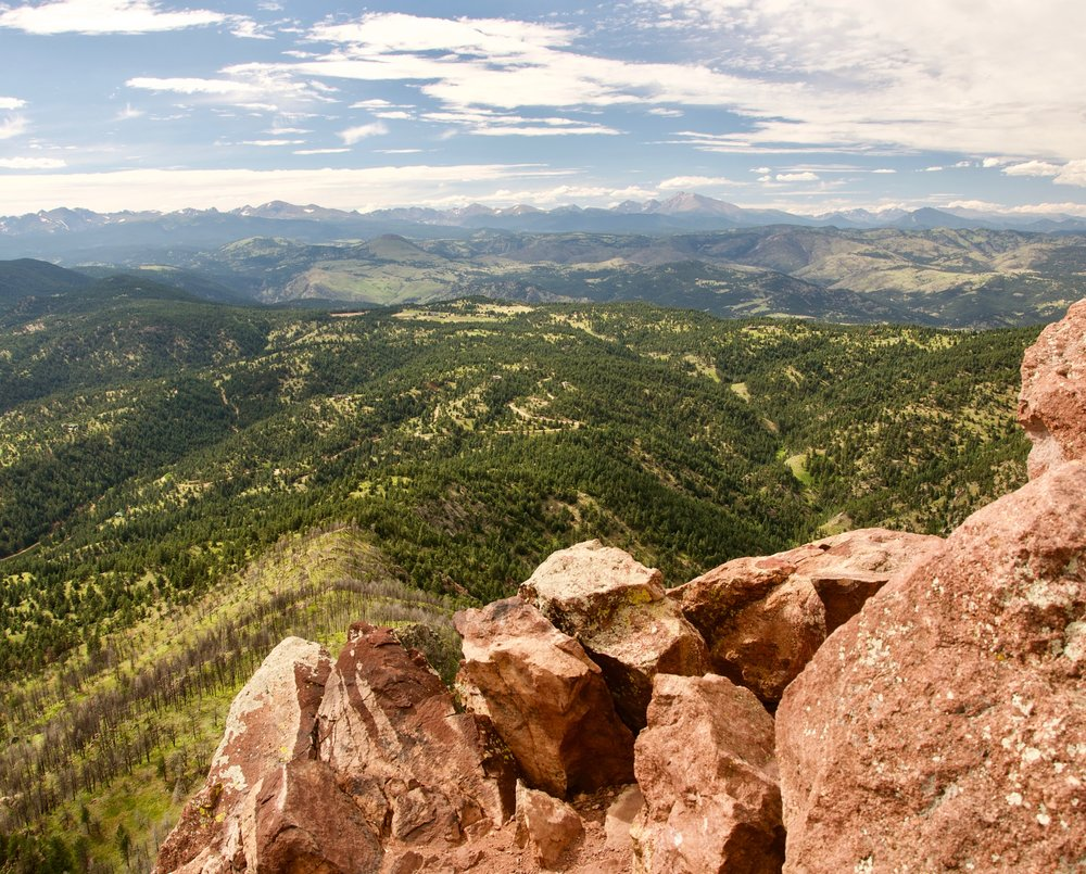 bear and s. boulder peaks - a boulder classic hike