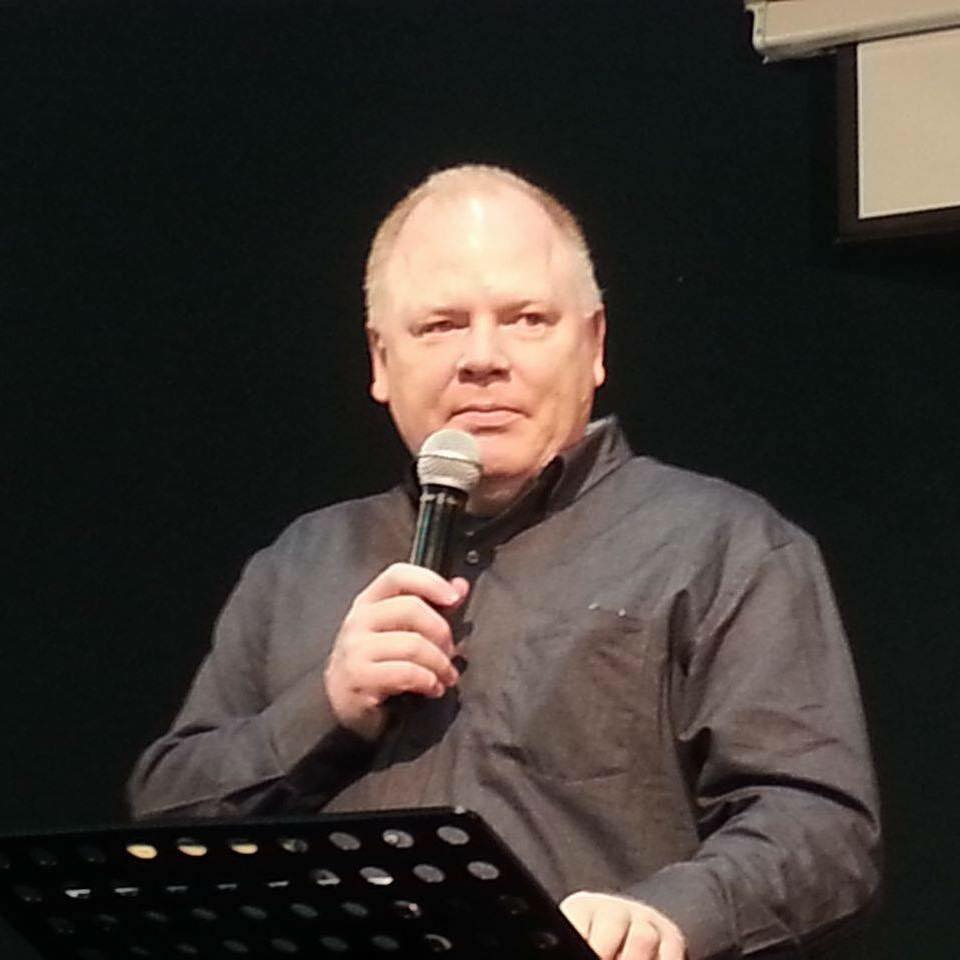 Pastor Joe ministering in Luxembourg
