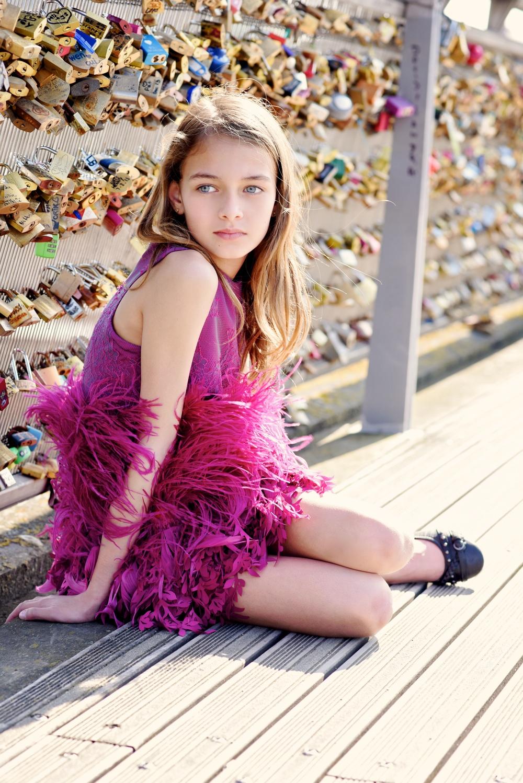 Enfant Street Style by Gina Kim Photography Mischka Aoki dress