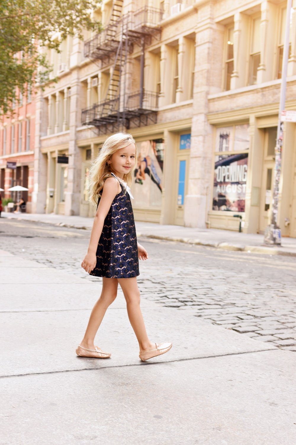 Enfant Street Style by Gina Kim Photography Hucklebones dress
