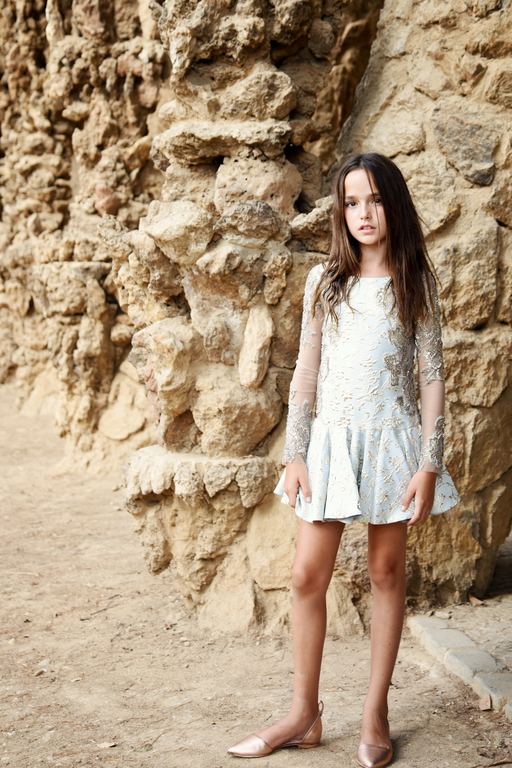 Enfant Street Style by Gina Kim Photography Mischka Aoki dress