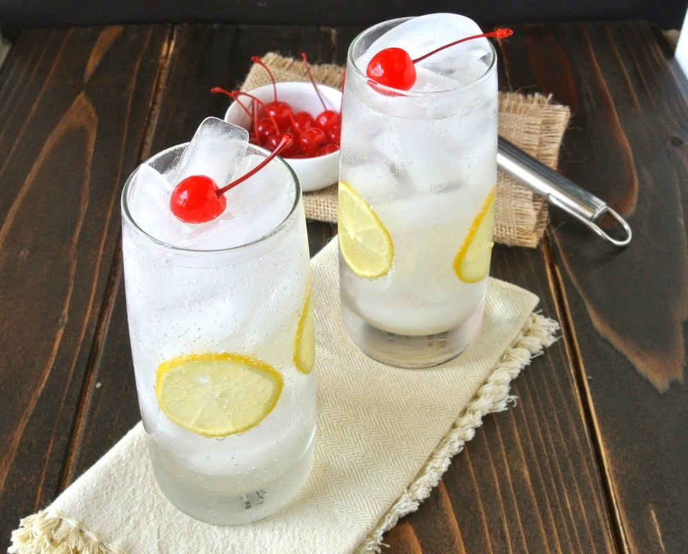 Tom Collins Recipe from Culinary Ginger