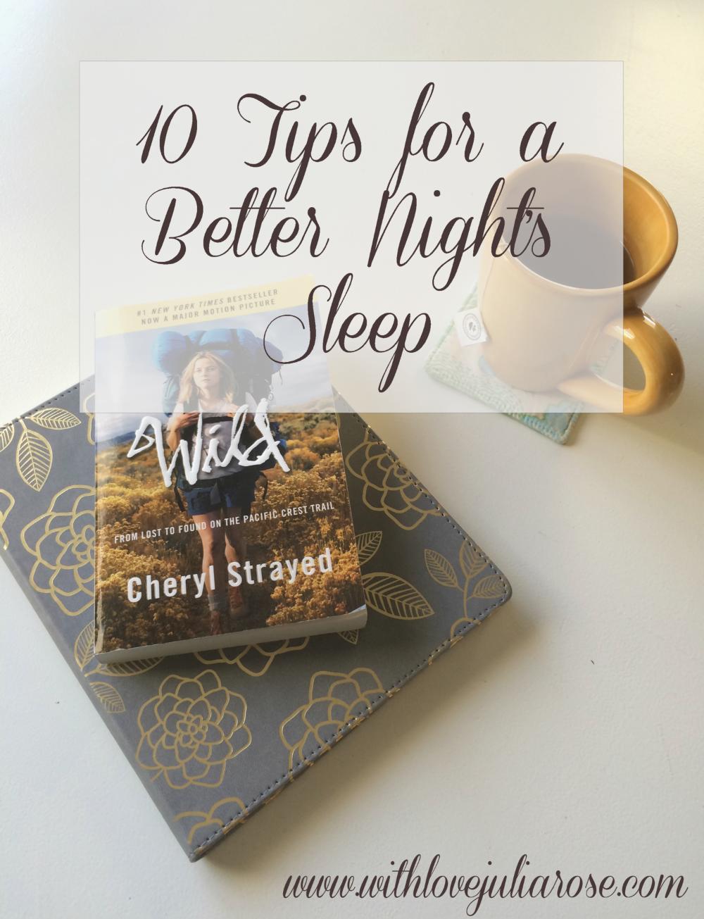 10tipsforSleep