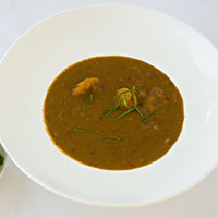 Subcontinent Sweet Potato Soup