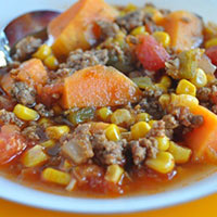 Holly's Sweet Potato Chili
