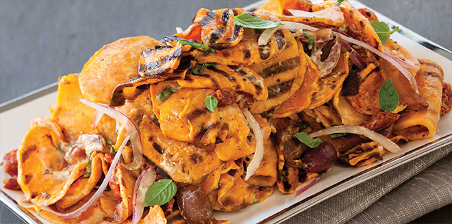 Panini Grilled SweetPotato Salad with Creamy Basil Vinaigrette.jpg
