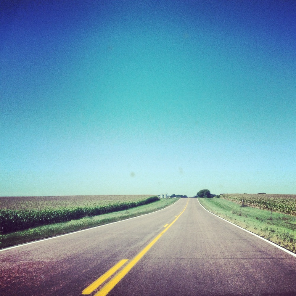 The road to Pipestone. This is what 90% of southern Minnesota looks like.