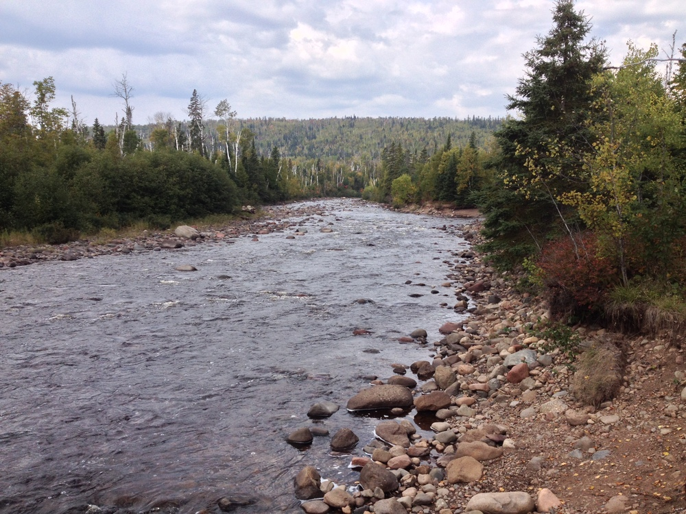 Following the Temperance River