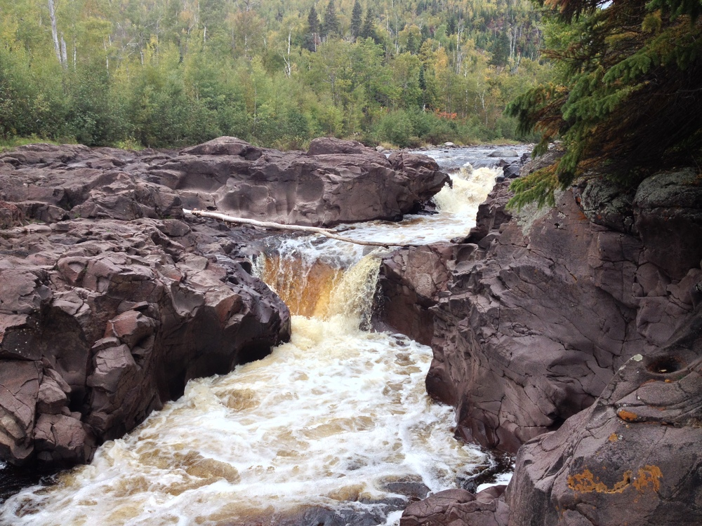 Cascades at Temperance River State Park