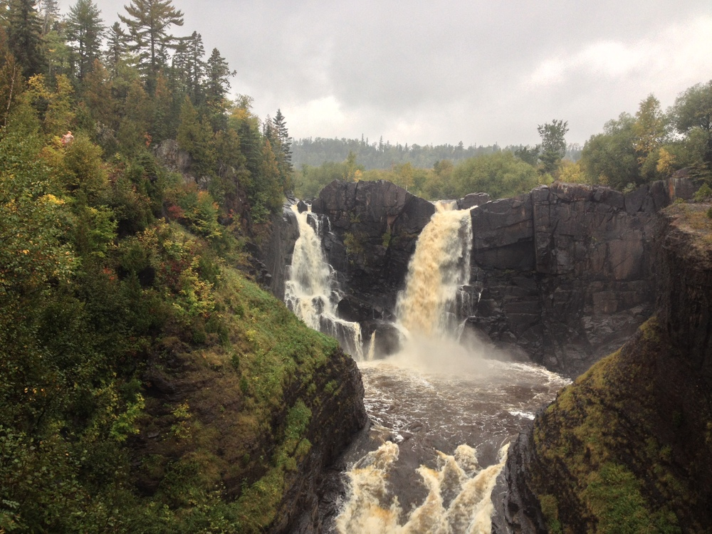 High Falls on the Pigeon River at Grand Portage State Park