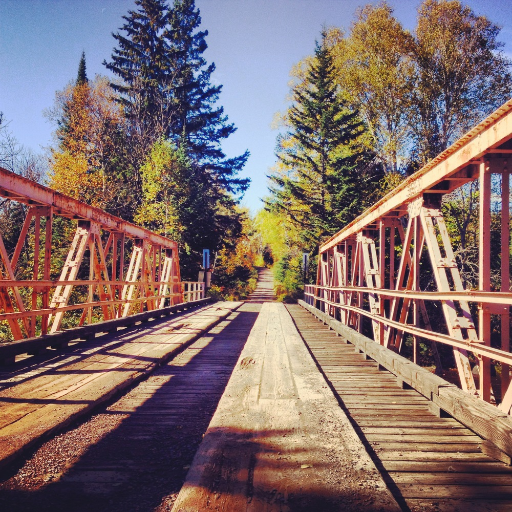 Bridge in Superior National Forest