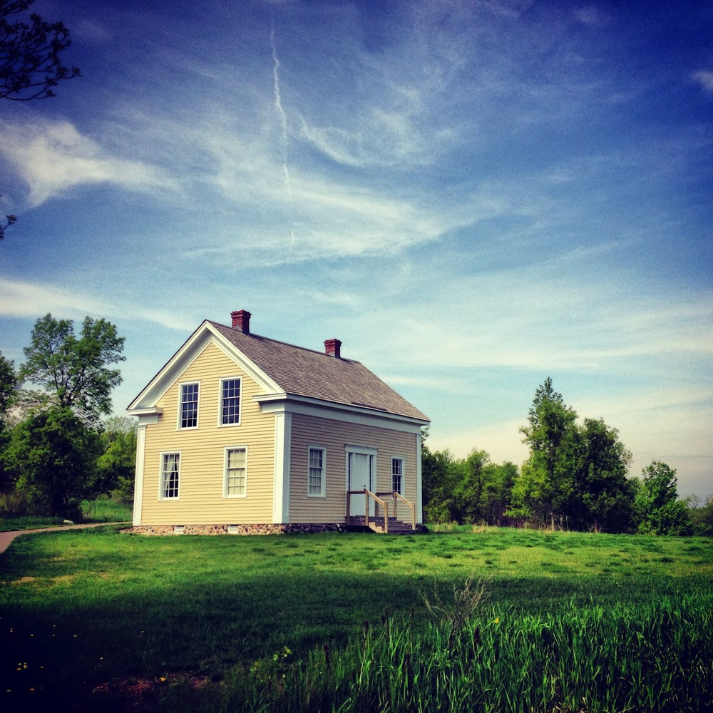 The Pierre Bottineau House in Elm Creek Park Reserve in Maple Grove