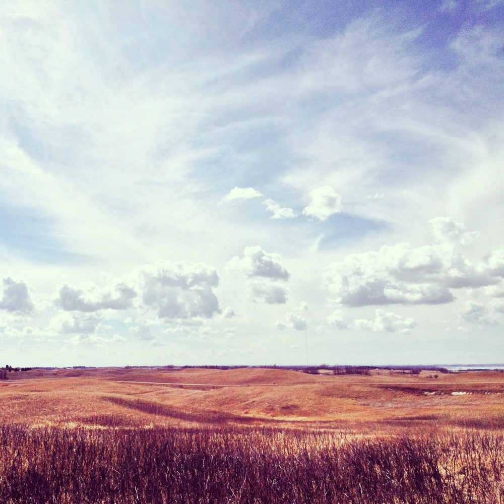The skies are always bigger in Glacial Lakes State Park