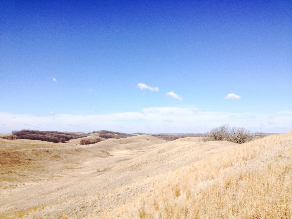 Minnesota Hiking Club Trail at Glacial Lakes State Park