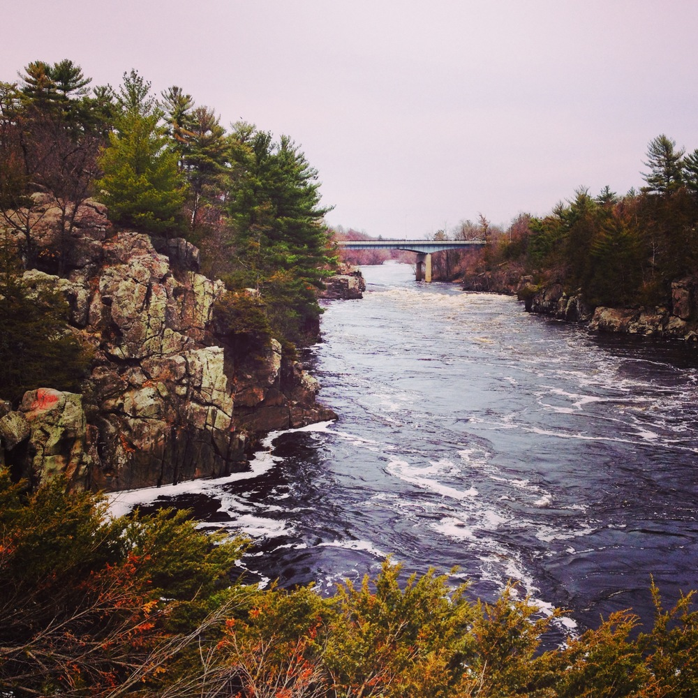The St. Croix River at Interstate State Park