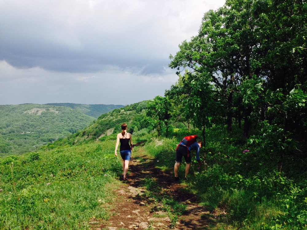 Minnesota Hiking Club Trail at Great River Bluffs State Park