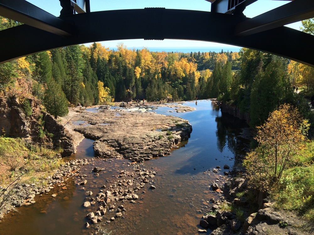 Gooseberry Falls in Fall