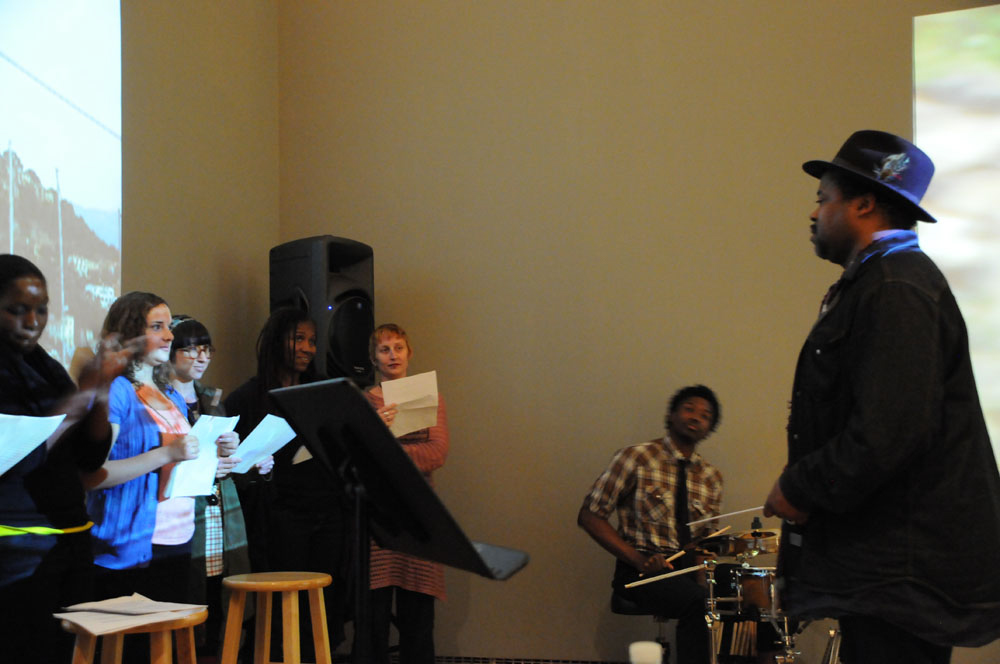 YBCA Reading Performance, Renee Green, Greg Tate and RPW group, 2010.jpg