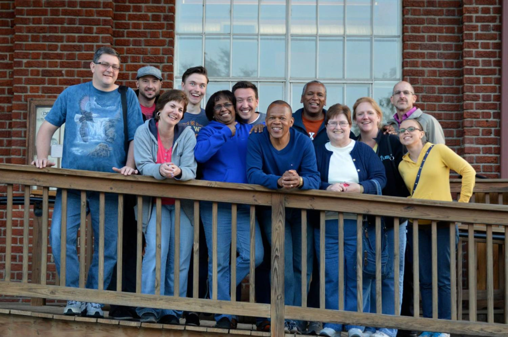 Bonus: Here's a picture of me with a bunch of the goofballs I get the privilege of working with at Severn Run! Photo credit: Dr. Drew Shofner's awesome self-timer.