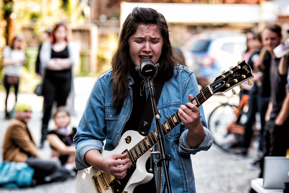 Lucy Dacus at Deep Groove Records