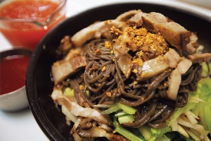 Cool 족발 & Cool 누들 Cold Pork Belly Buckwheat Noodle $20.95