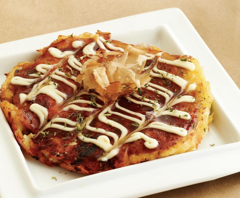 김치치즈 오코노미야키 Kimchi & Cheese Okonomiyaki $15.95