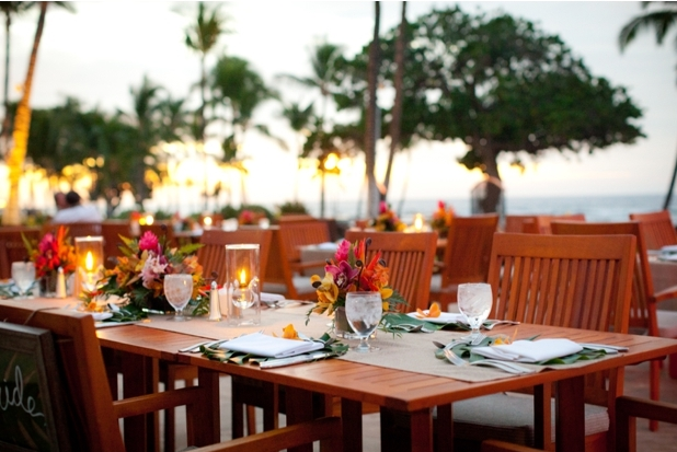 Mauna Lani Hotel Beach Wedding