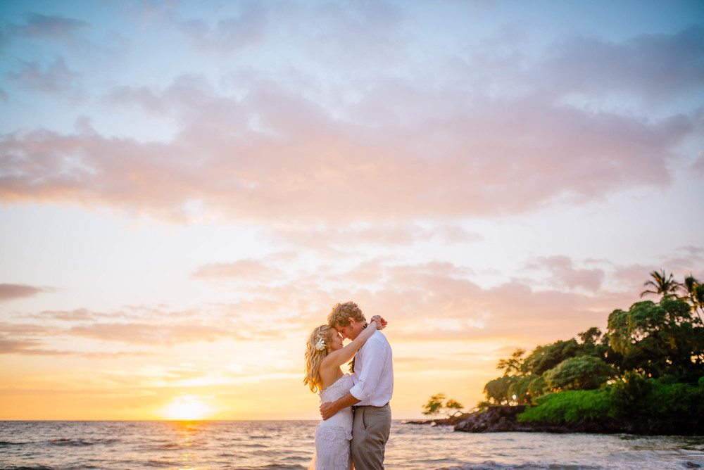 Mauna Kea Beach Wedding