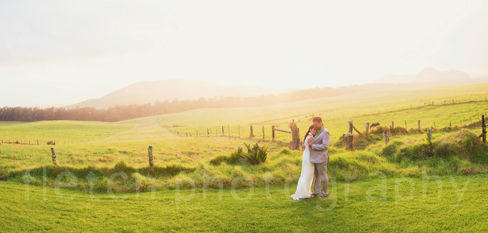 Rustic Hawaii Weddings