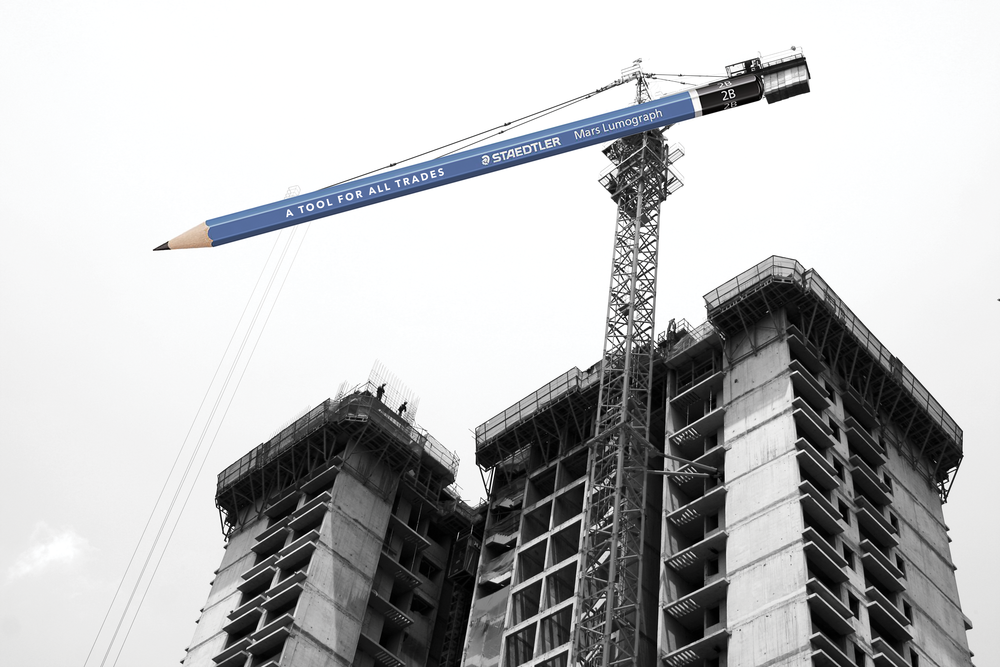Construction Crane:  Drafting the Future