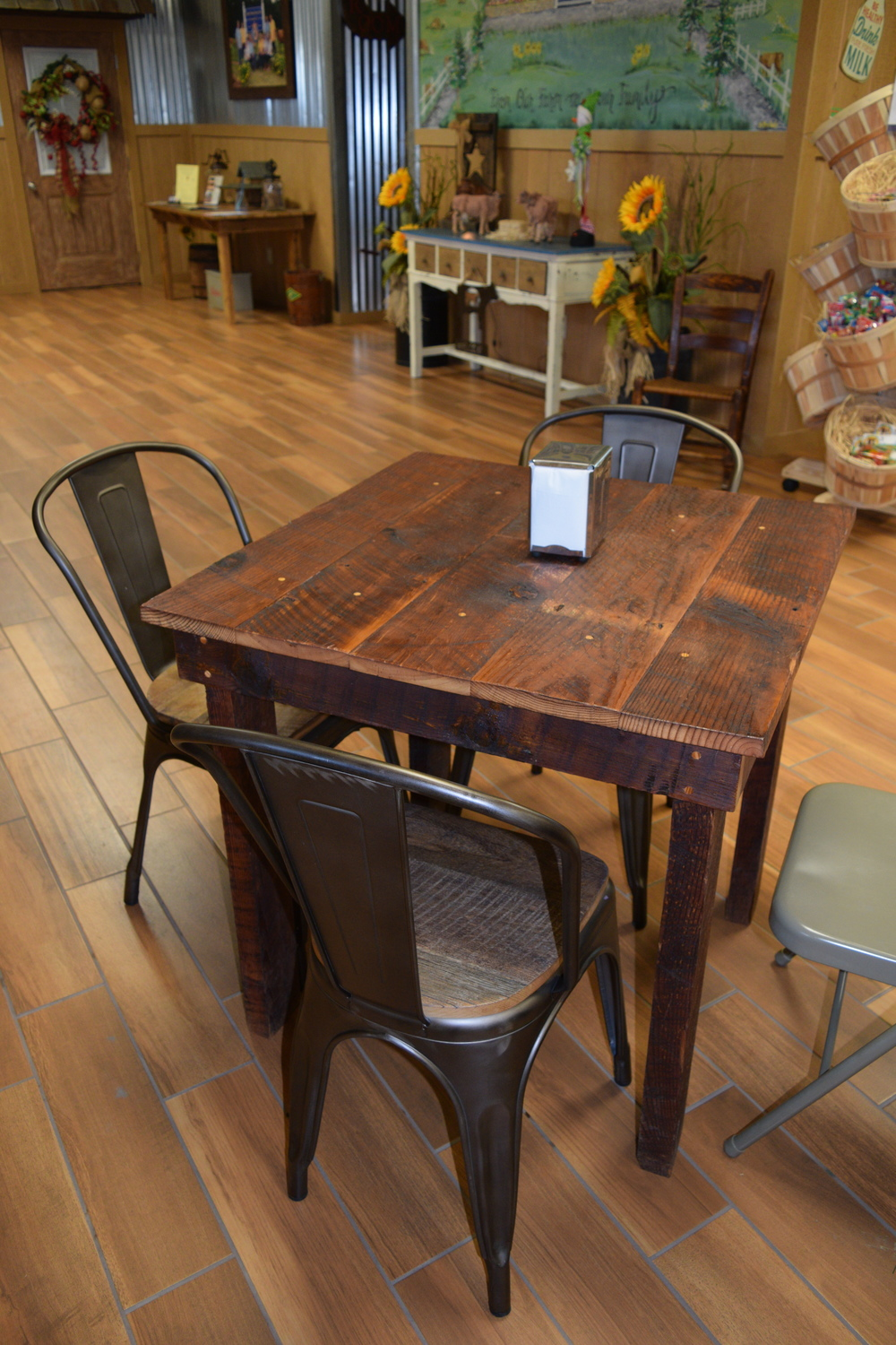 Farmhouse Restaurant Table
